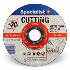 Metalo pj.diskas 125x1,6x22 mm