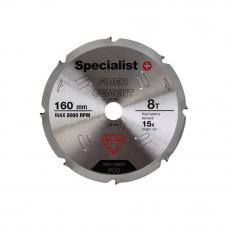 Pj. diskas pluošt. cement. 8T 160 x 20 mm
