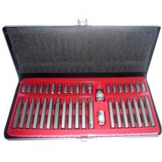 Plieniniai raktai HEX - TORX 40 vnt., S2