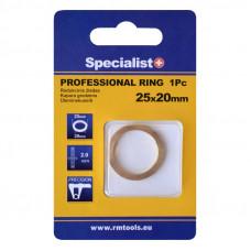 Redukcinis žiedas PRO 25,4x22,2x2 mm