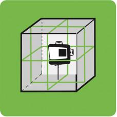 "3D laz. matuoklis žaliu spinduliu ""KAPRO"