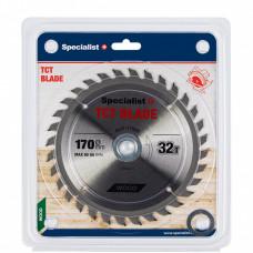 Pjovimo diskas 170x32Tx30/20/16 mm