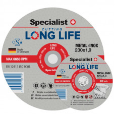 Metalo pjovimo diskas LONG LIFE 350x4x25,4 mm