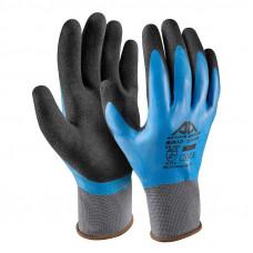 Mėlynos Grip pirštinės XL
