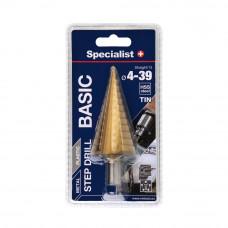 Specialist Basic Žingsninis grąžtas 4-39 mm