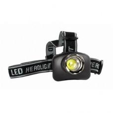 Galvos žibintuvėlis ZOOM 3W LED CT-400