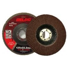 Lapelinis diskas DELOG 125 P120