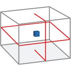 Lazerinis matuoklis 360° raudonu spinduliu