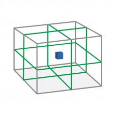 Lazerinis matuoklis 3D žaliu spinduliu