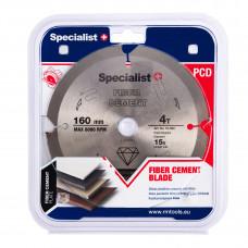 Pj. diskas pluošt. cement. 4T 160 x 20 mm