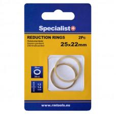 Redukc. žiedas 25,4x22,2x1,2/1,4 2 vnt.
