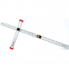 Reguliuojama T formos liniuotė 120 cm