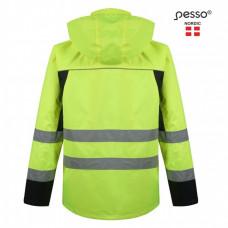 Ryškaus matomumo striukė Pesso DENVER, geltona XL