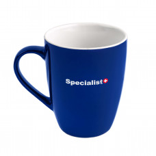 """Specialist+"" keramikinis puodelis"