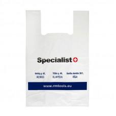 """""""Specialist+"""" plastikinis maišelis"""