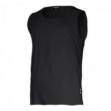 Marškinėliai be rankovių juodi 160g, CE, LAHTI