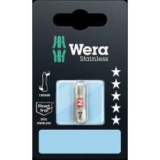 Antgalis kryžminis nerūd. plieno WERA 3851/1 TS 25 mm SB