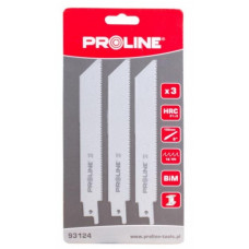 Atsarginiai pjūkliukai metalui 3vnt PROLINE