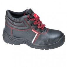 Darbo batai odiniai/medžiag.S1P SRA 40d.,CE,LAHTI