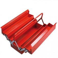 Dėžė įrankiams 550mm 5-jų sekcijų metalinė PROLINE