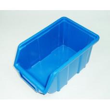 Dežutė plastmasinė mėlyna