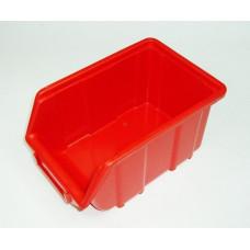 Dežutė plastmasinė  raudona