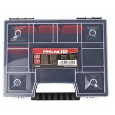 Dėžutė su rank. 35x155x195mm,11 skyr.,PROLINE HD