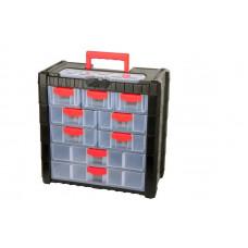 Dėžutė su rank. 390x200x400mm,22 skyr.,PROLINE HD