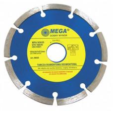 Diskas deimantinis sausam povimui MEGA