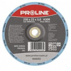 Diskas metalui pjauti T42 230x3,0x22mm A36S PROLINE