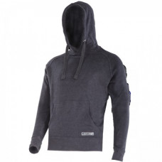 Džemperis su gaubtu juodas  CE,LAHTI