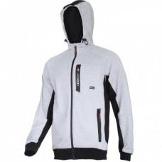 Džemperis su gaubtu pilkai-juodas, CE,LAHTI