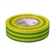 Izoliacija PVC 19mm 10m žalia/geltona 0,13mm
