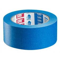 Juosta lipni popierinė mėlyna, iki 30d.vid..25mm,33m