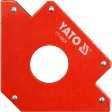 Kampainis suvirint. magnet.122x190x25mm YATO