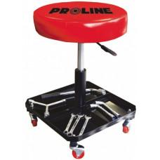 Kėdė šaltkalvio ant ratukų pneum. regul. PROLINE