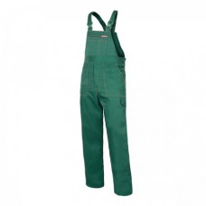 Kelnės su petnešom žali L(176),CE,LAHTI QUEST