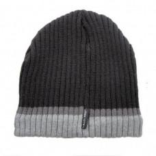 Kepurė akrilinė pašiltinta juodai-pilka,CE,LAHTI