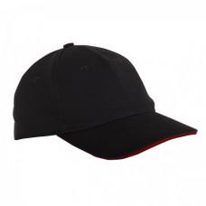 Kepurė su snapeliu juoda,CE,LAHTI