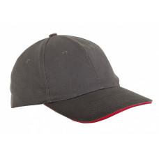 Kepurė su snapeliu pilka,CE,LAHTI PRO
