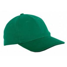 Kepurė su snapeliu žalia,CE,LAHTI