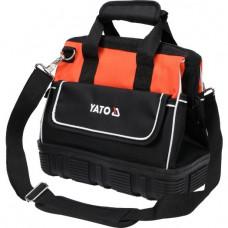 Krepšys įrankiams su guminiu dugnu 15 kišenių YATO
