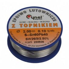 Lydmetalis 3.0mm 60% Sn SW26 100g