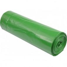 Maišai šiukšlėms žali 120l,60mkr 10vnt