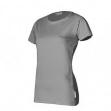 Marškinėliai pilki moteriški 180g, CE, LAHTI