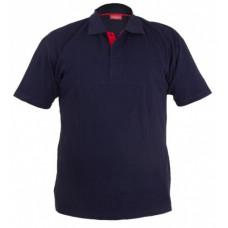 Marškinėliai polo mėlyni, L, CE, LAHTI PRO
