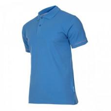 Marškinėliai polo mėlyni 220g, XL, CE, LAHTI