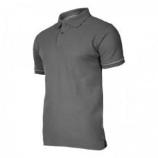 Marškinėliai polo pilki 220g, CE, LAHTI