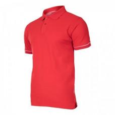 Marškinėliai polo raudoni 220g, CE, LAHTI