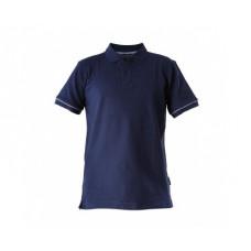 Marškinėliai polo tamsiai mėlyni 220g, CE, LAHTI
